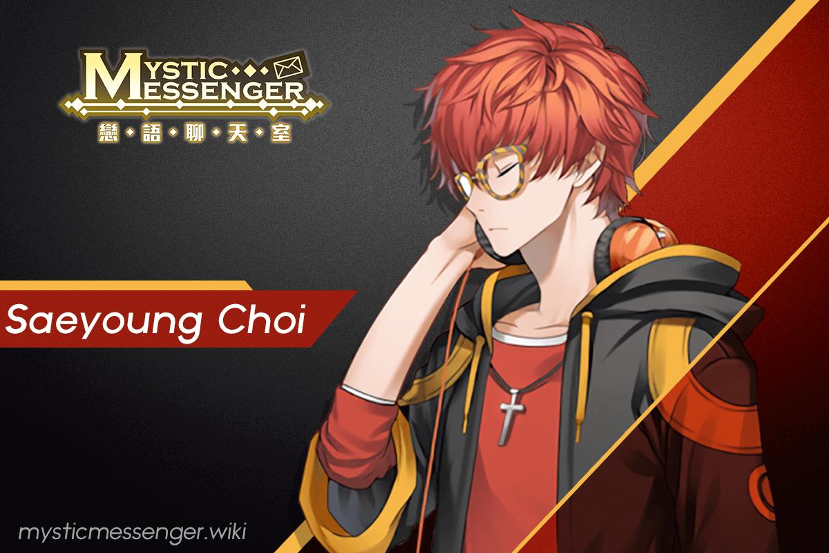Saeyoung Choi Mystic Messenger