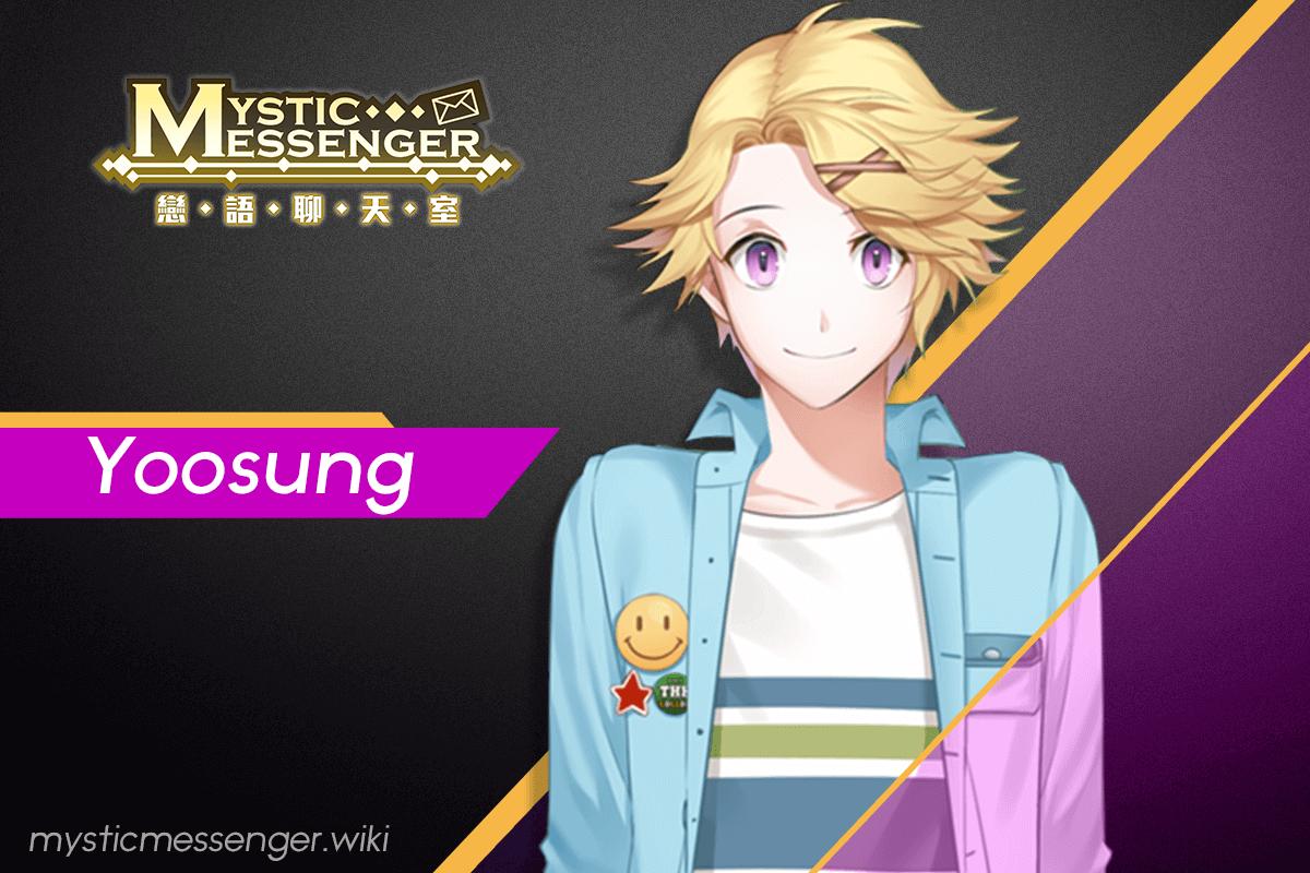 Yoosung Mystic Messenger